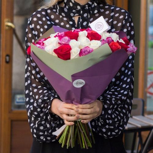 Букет роз от Aniroses.by